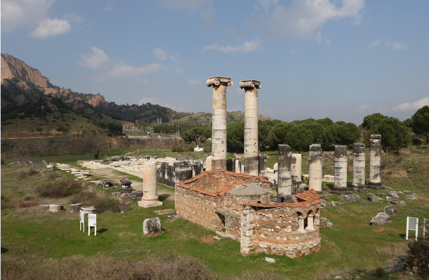 Sardes ve Artemis Tapınağı