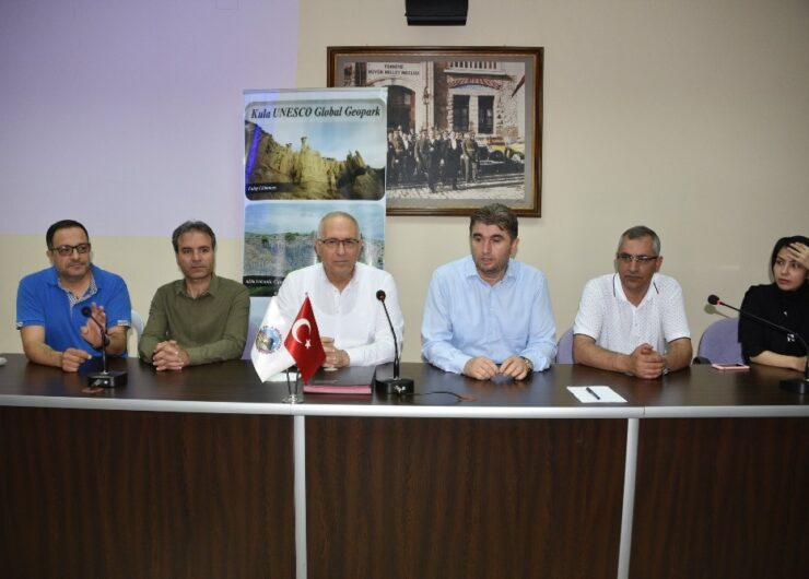 Salihli, UNESCO Jeopark heyetini ağırladı